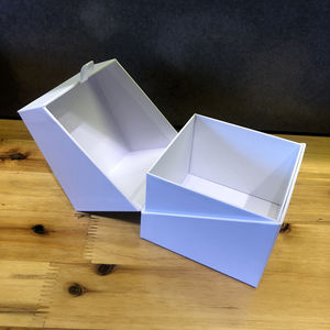 Paper Ribbon Factory Custom Empty Gift Packaging Box