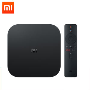 Versi Internasional Asli Xiaomi Redmi S 4K Ultra HD Android TV 8.1 Set Top Box dengan Google Assistant