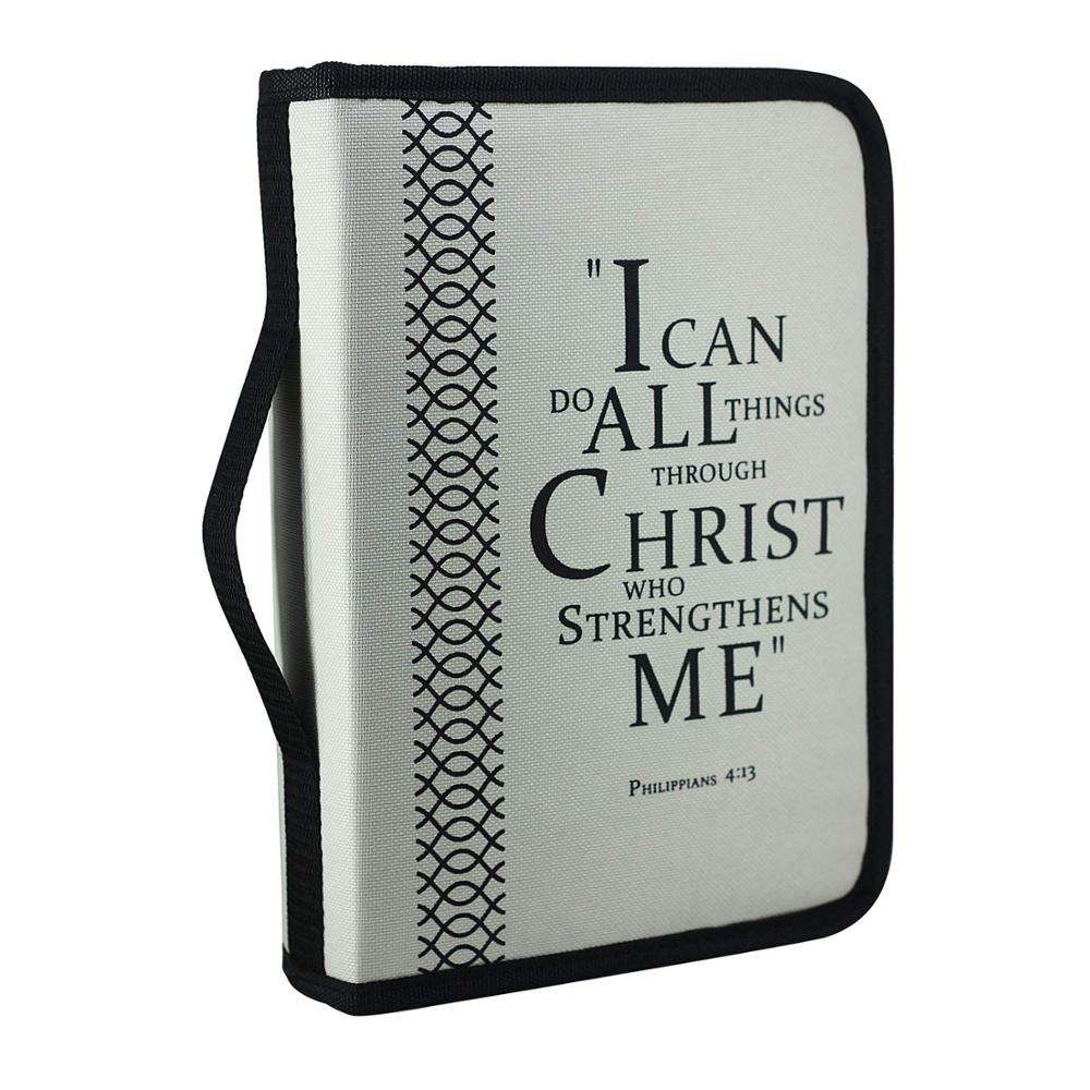 Art Paper Paper Type and Hard Cover Book Cover, imitation Embossed Leather Bag Bible Book Cover