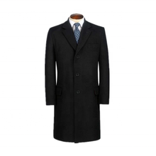 Formal German Handmade Cashmere Wool Coat Men