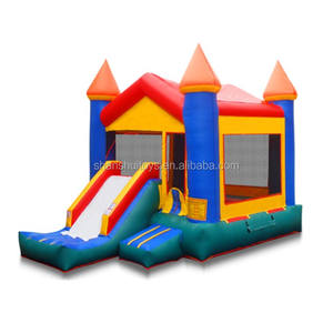 Commercial Mini Bouncy Castle Inflatable bouncing castles With bouncer slide for sale