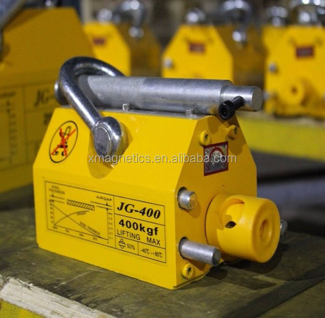 Strong Yellow Heavy Magnetic Lifting Hoist Tool