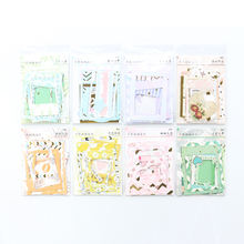 New candy kawaii school gold foil decorative paper sticker for diary planner stationery,DIY photo frame sticker for kids