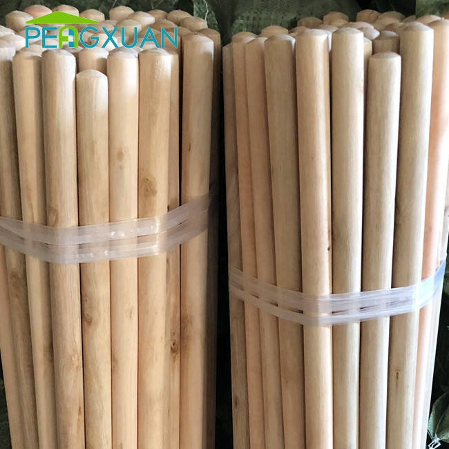 Factory direct sell hight quality free sample eucalyptus round wood stakes