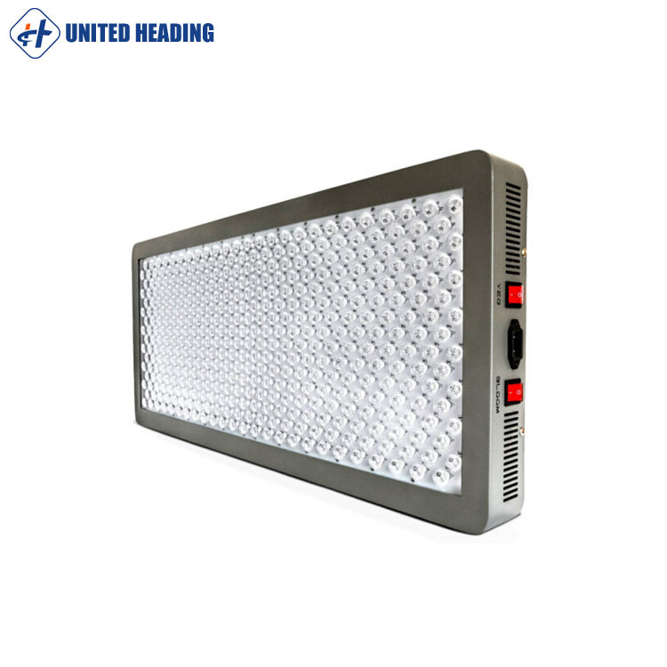 Wholesale Canggih Dual Sayuran dan Mekar Switch 12 Band Platinum Series High Power Full Spectrum LED Grow Light P1200