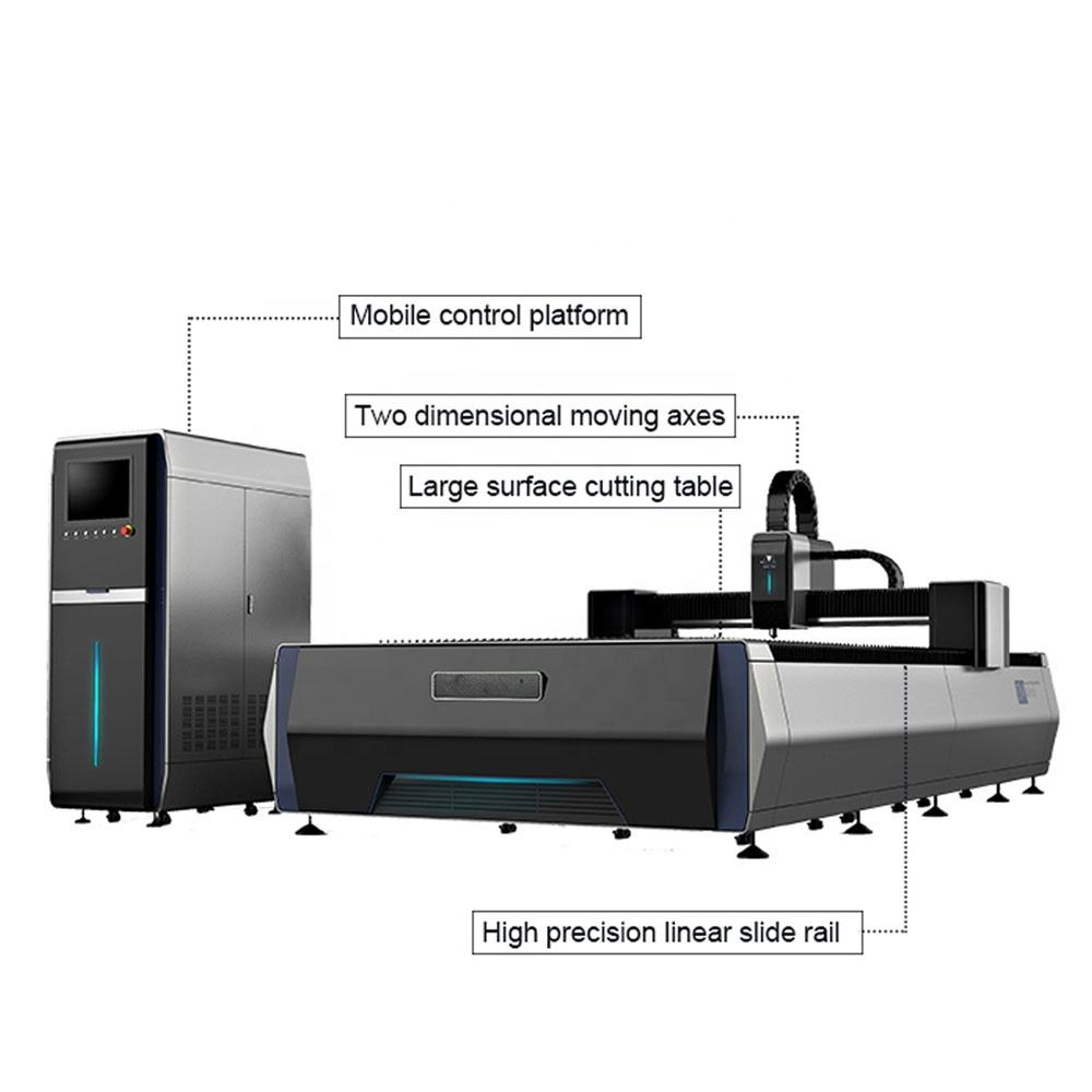 High quality 1530 fiber laser cutting and engraver machinery price