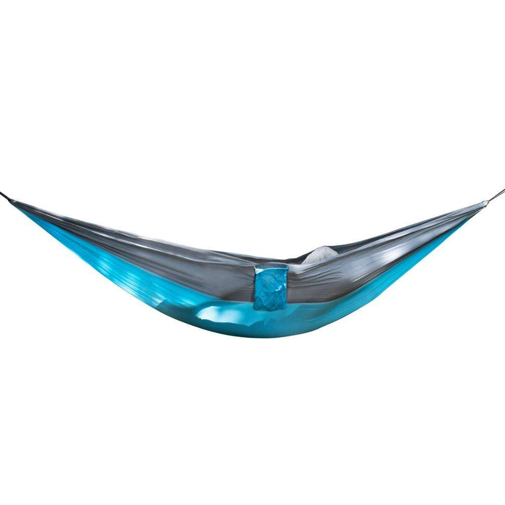 Wholesale Summer high Quality Double Outdoor Parachute Travel Lightweight 2 Person Swing Hammock for Camping