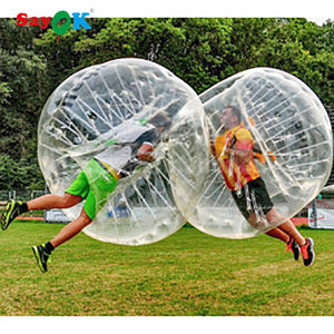 Cheap TPU inflatable body bumper ball for adult,human inflatable bumper bubble ball rent factory
