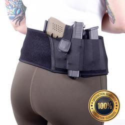 Ultimate Nylon/Neoprene Tactical Concealed Carry Waist Belly Band Holsters