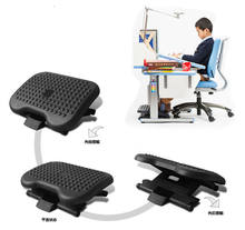 Ergonomic Foot rest Design Plastic Office Adjustable Under Desk Footrest with 3 Height Position