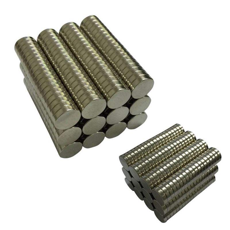 "N45 Dia 1/4"" x 1/16"" Strong Neodymium Disc Magnets for Sale"
