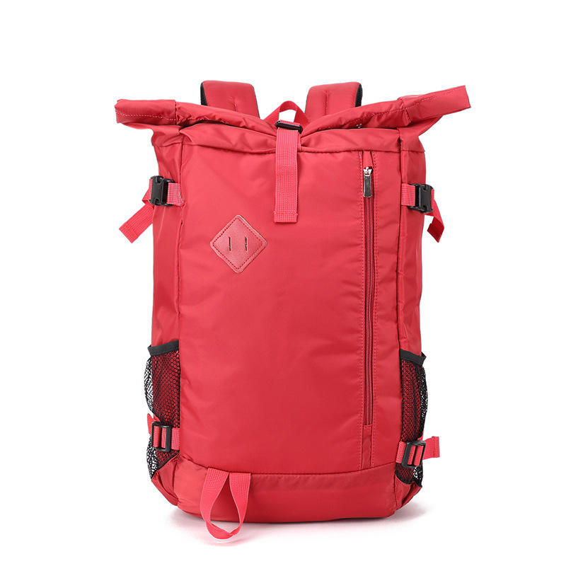 Wholesale custom unisex rolltop sport backpack travel business laptop bag
