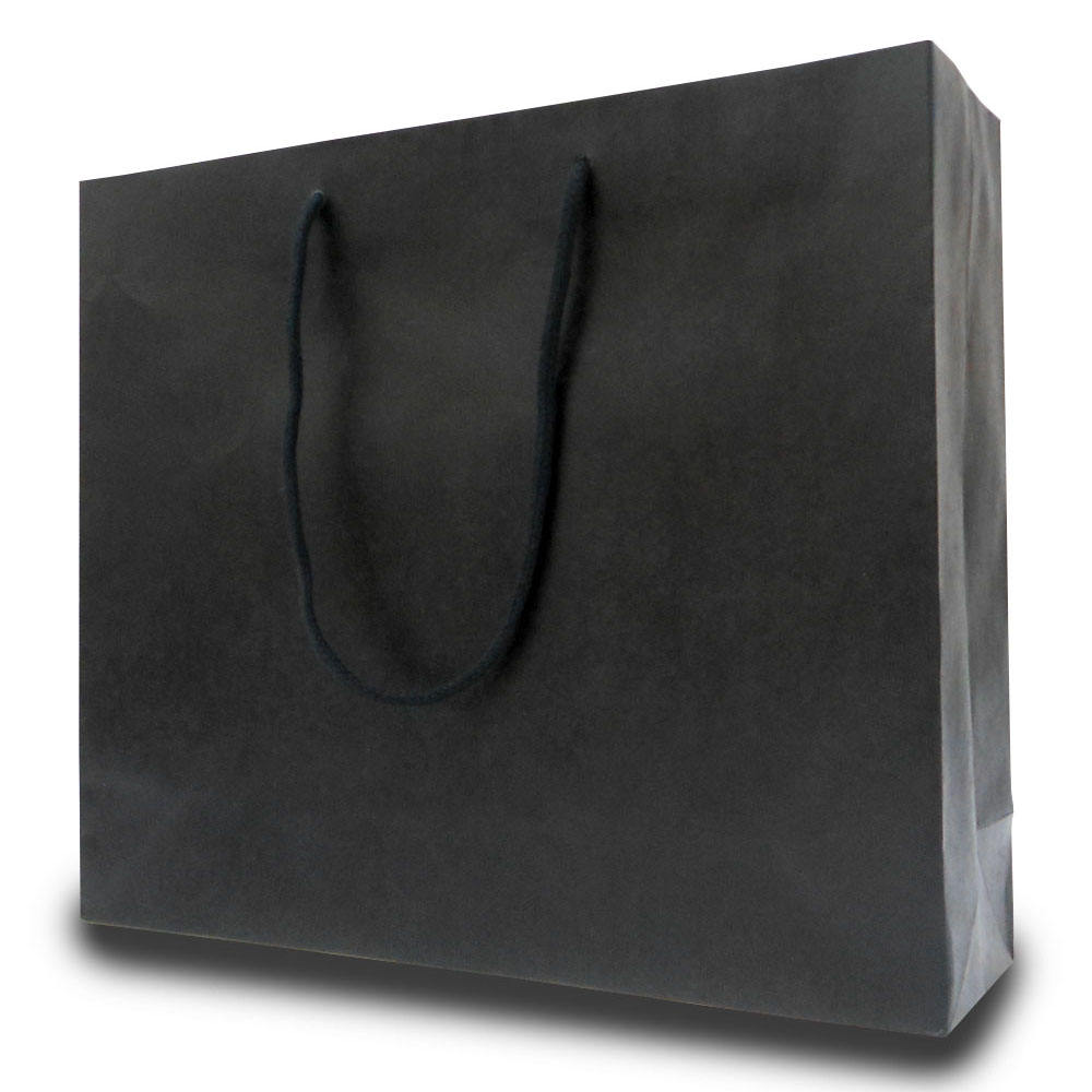 Japanese Various Color Printing Small Custom Black Paper Gift Bags