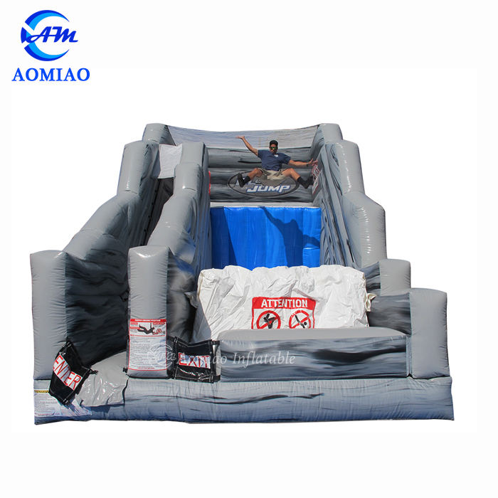 Safety Jatuh Bebas Inflatable Jumping Air Bag Inflatable Bouncer Slide