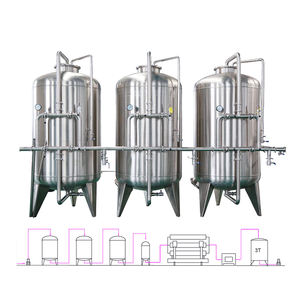 CE Certified Stable High Quality alkaline water ionizer 15T / RO water treatment system For Drink