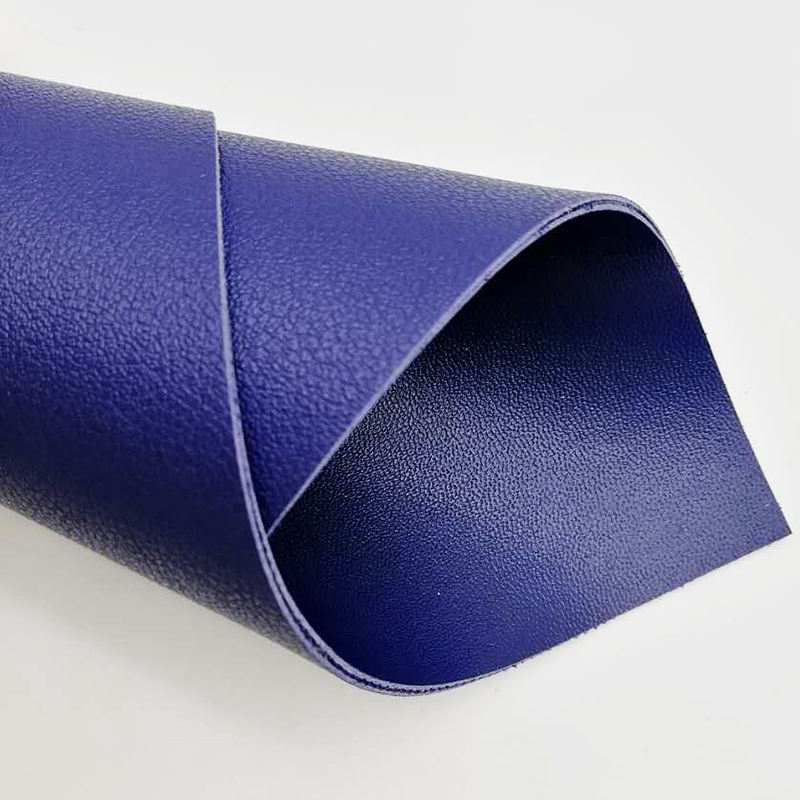 double sided faux leather fabric, pvc faux leather 2mm from Guangzhou China
