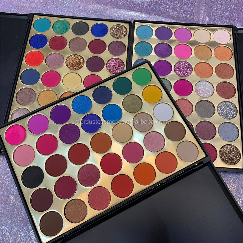 Private Label Make Up Cosmetics no brand wholesale makeup Pressed 35 color eyeshadow maquillaje 35sp summer palette
