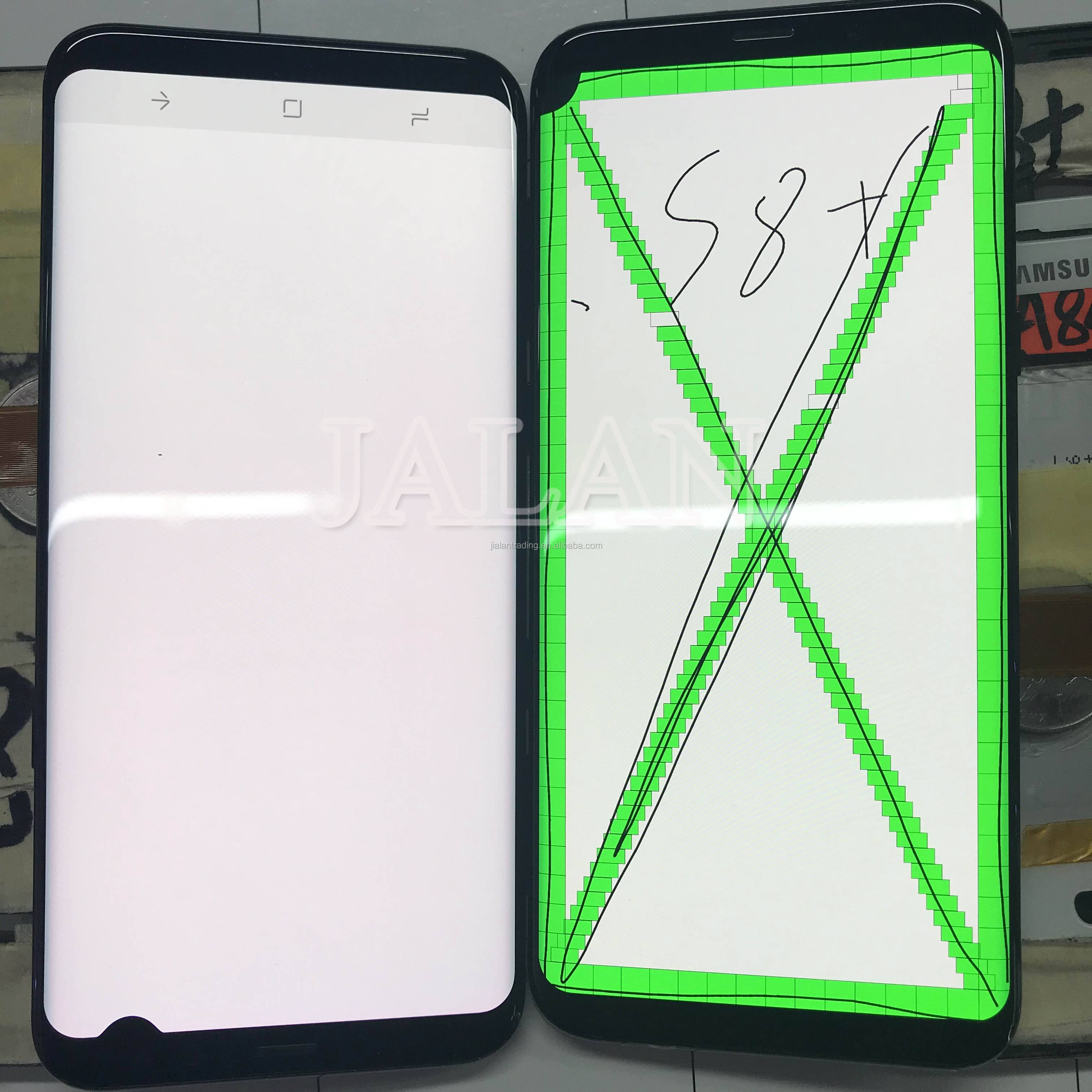 lcd with little spot for Samsung S8 plus G955 glass LCD touch screen Replacement touch and glass repair on phone