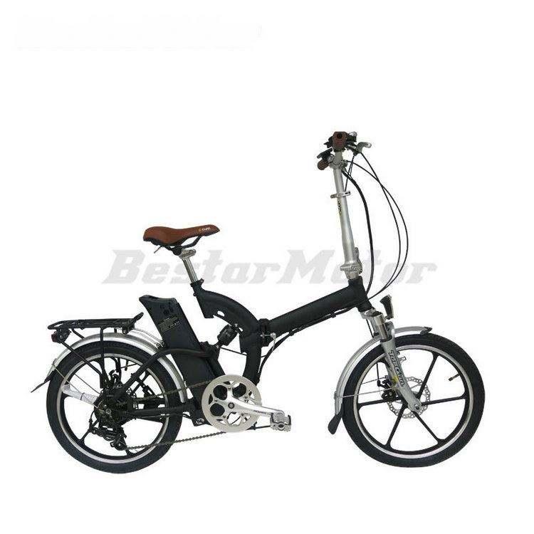 Немецкий tuv утвержден складной электрический велосипед с необычные колеса сплава и выход USB