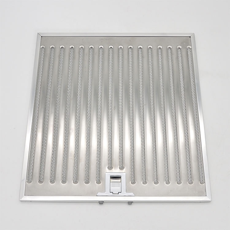 Wholesale Washable Cooker Hood Baffle Filter Stainless Steel Container