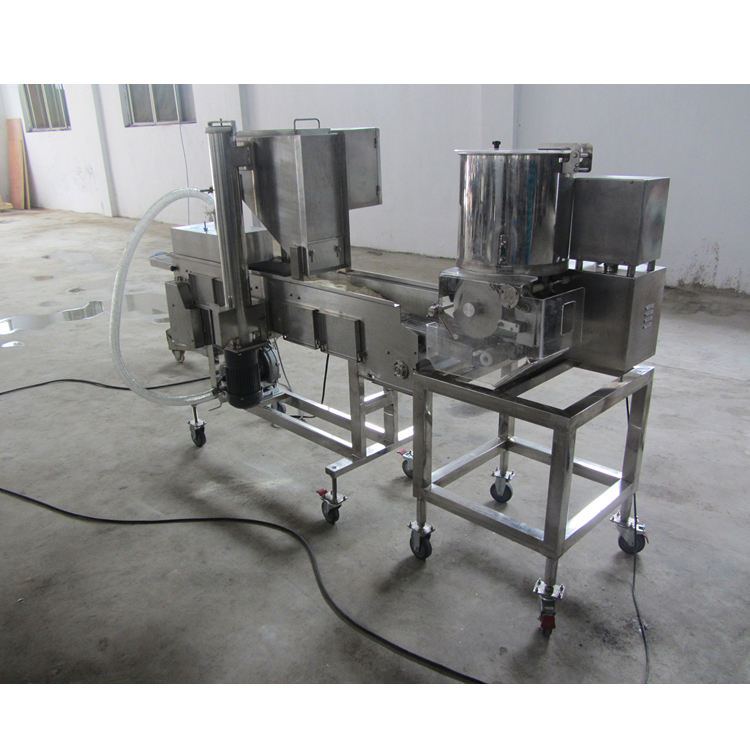 Pie Hamburger Patty Beef Filling Forming Machine HITREES