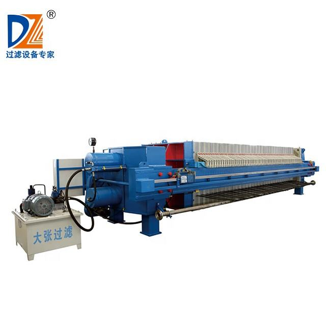 Shanghai Dazhang High pressure filtering machine automatic membrane filter press manufacturer