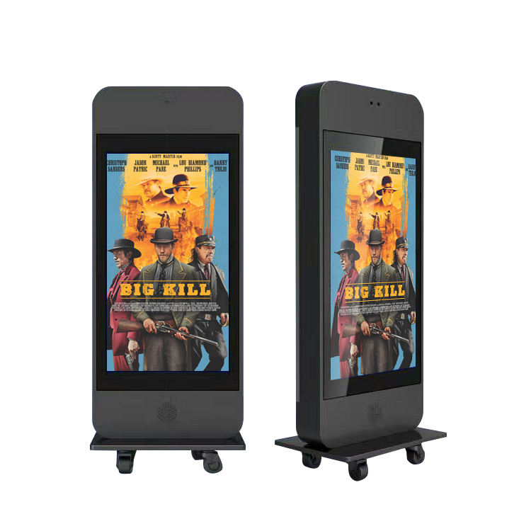 mega 42 inch lcd kiosk mp3 player indoor 1080p touch screen