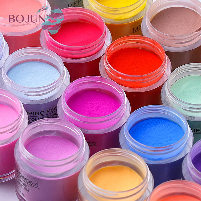 Newest Product supplies color cosmetic art polish nail dip pigment private label dipping powder