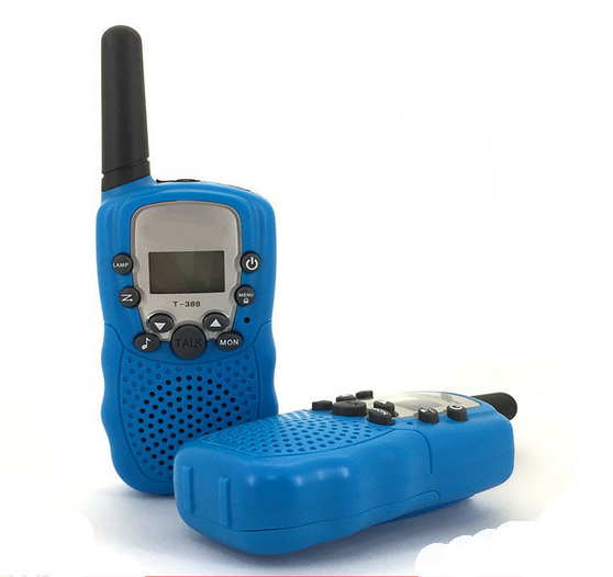 Hot sales customized color walkie talkie 10km range with sound systems equipment watch for kids walkie talkie