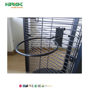 black wire grid wall metal display hanger gridwall hook