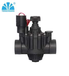 Yongchuang brand YCA11/21 rainbird similar agriculture garden irrigation magnetic solenoid water valve 12v 24vdc