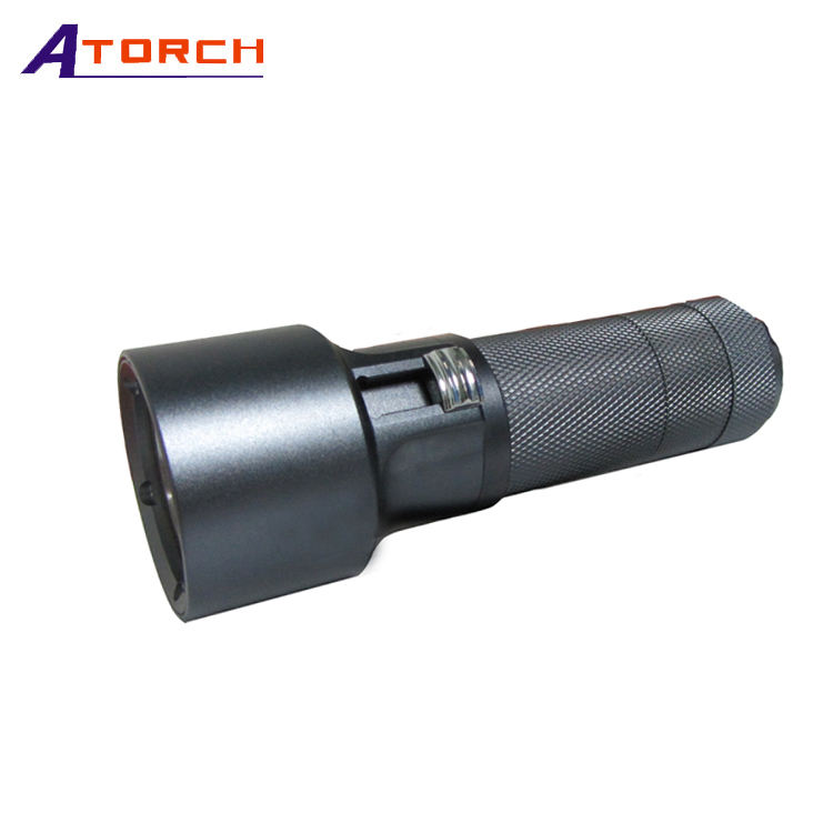 Paling Murah Senter LED Torch Light, Lampu Polisi LED Senter Obor Pesawat Kelas Paduan Aluminium LED Senter