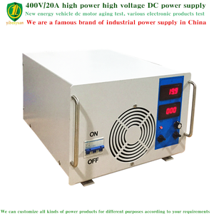Produsen Cina Menjual 400 V/20A Daya Tegangan Tinggi DC Power Supply, adjustable Diatur DC Switching Power Supply