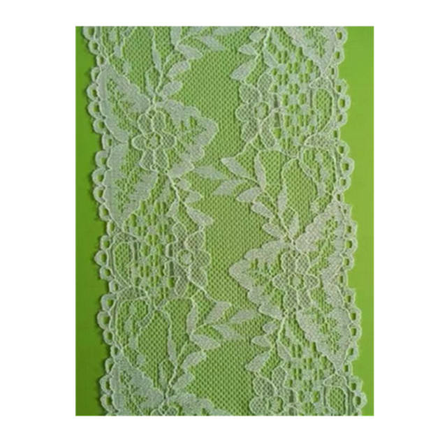 Elastic French Lace Fabric Chantilly Lace Bridal Trim for Garment