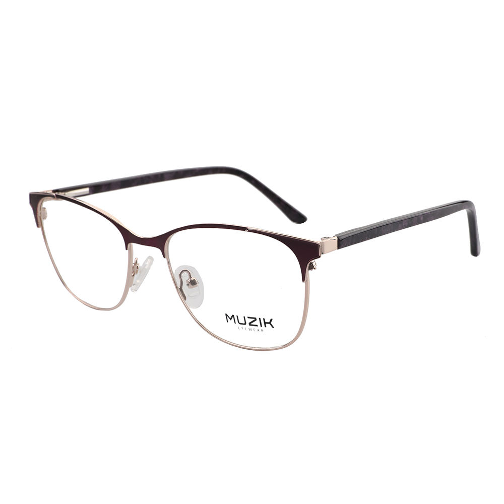 ML0251 fashion women computer anti blue plain glasses