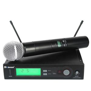 2019 Sinbosen L-24 sans fil radio microphone for music with microphone holder