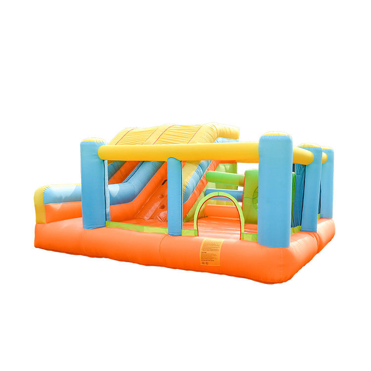 New Hot Inflatable Slide Inflatable Obstacle Course Used Commercial Bounce Houses For Sale