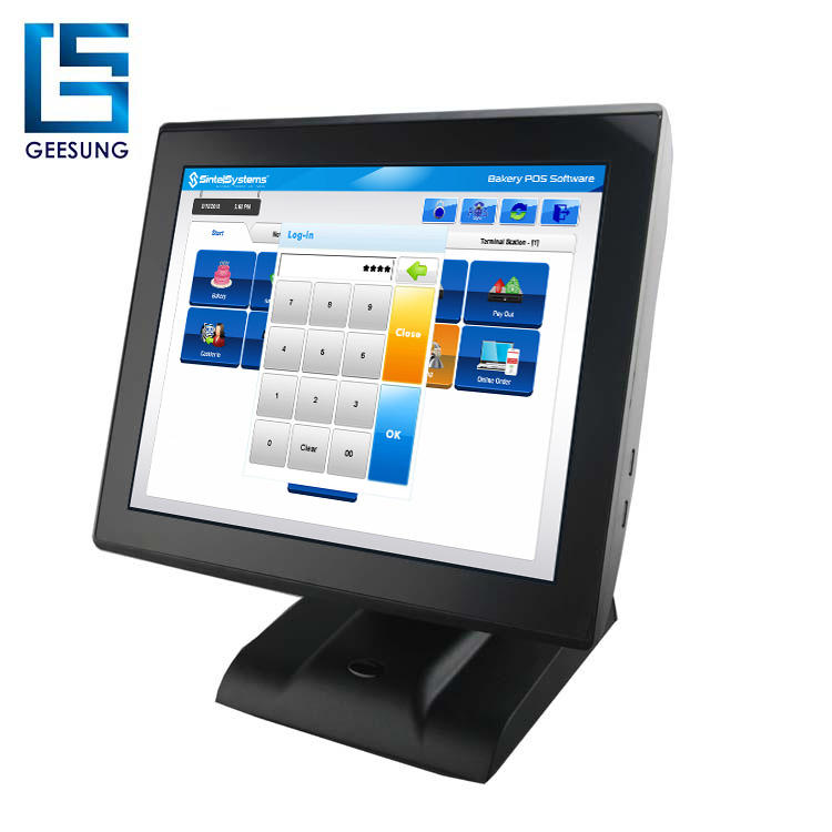 Capacitieve touch pos-systeem epos voor retail