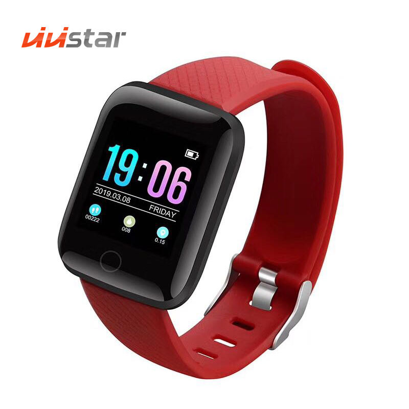 K5(116 plus) Smart bracelet with IP45 Waterproof Step Calories Distance Sleep Monitor GPS Running Watch