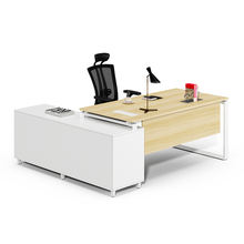 foshan furniture factory design modern executive manager office furnitures computer table for boss