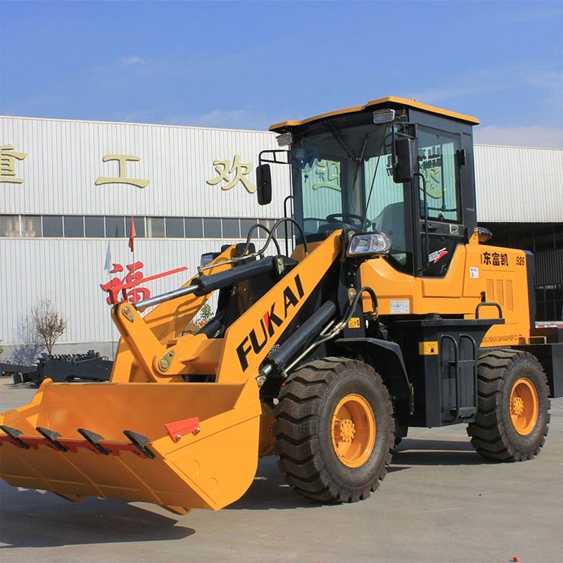 FUKAI New Condition ZL-926 1.5 Ton Mini Loader Wheel With Snow Blower