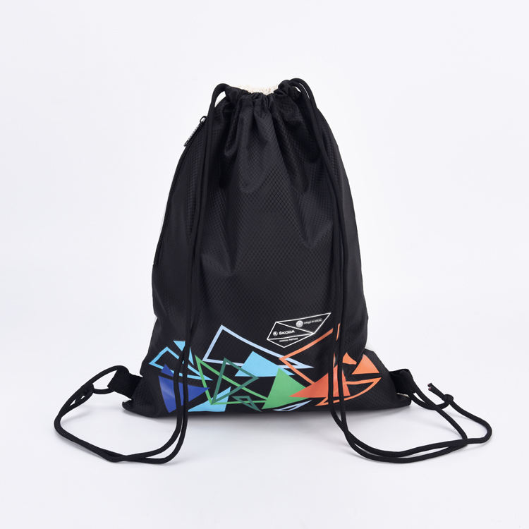 promotional waterproof custom Logo sports Bag with a pocket