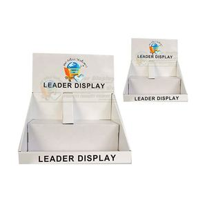 Hot sales customized retail corrugated paper display stand for watches