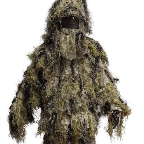 Customized 군 woodland camouflage ghillie 잘 벌 대 한 sniper