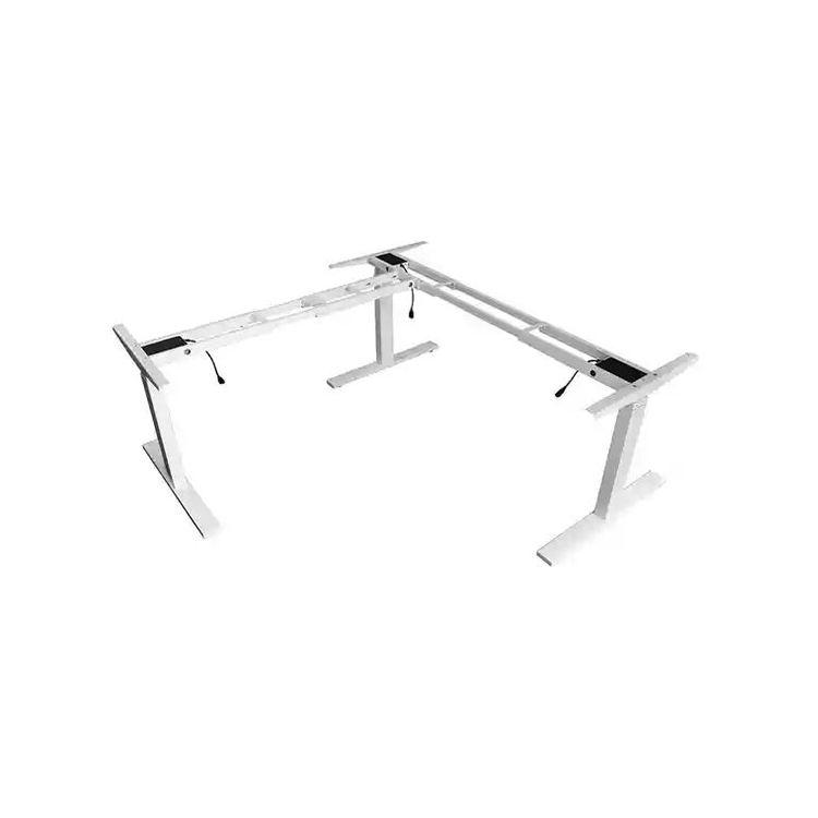 Sillas de oficina | <span class=keywords><strong>muebles</strong></span> para oficina L forma de altura eléctrica y ajustable sentarse a Soporte de escritorio de la esquina