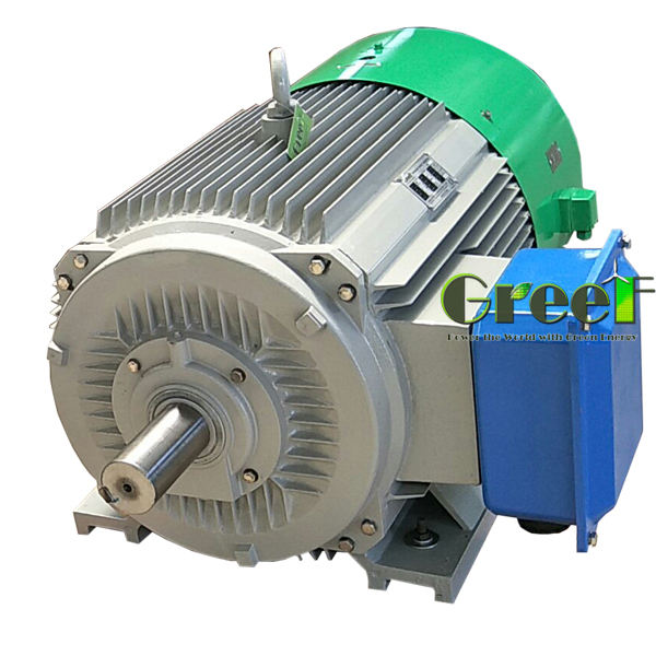 20KW 200KW Low Rpm Permanent Magnet Alternator, Free Energy Magnetic Generator