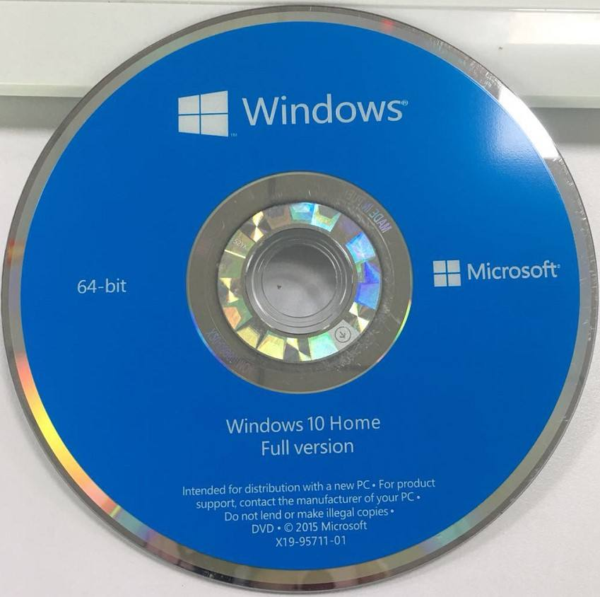 Microsoft Windows 10 Home 64-bit -OEM Bread New, Sealed Full Version (KW9-00140) windows 10 computer software