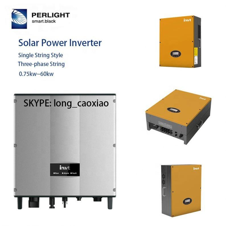 Perlight 1Kw Grid Connected Solar Power Supply Generation System With Solar Panel Inverter