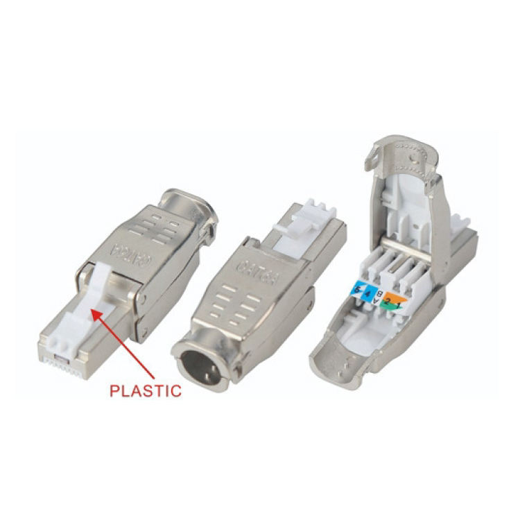 Fabrik direkt <span class=keywords><strong>cat6</strong></span>/6a/5e 8p8c <span class=keywords><strong>ftp</strong></span> rj45 toolless stecker