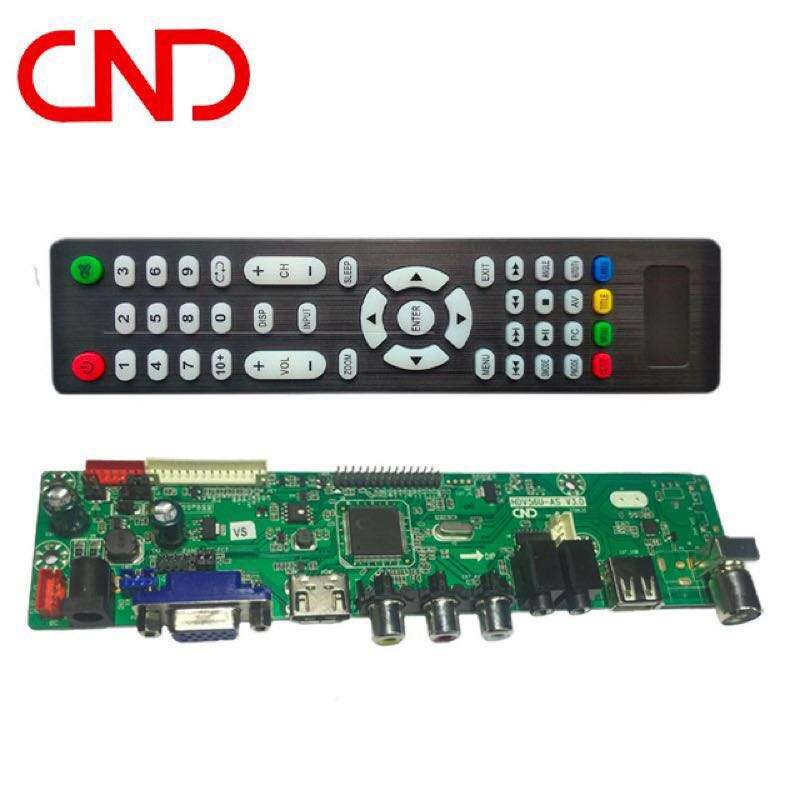 HDV56U universal crt 32inch led tv mother board with remote control